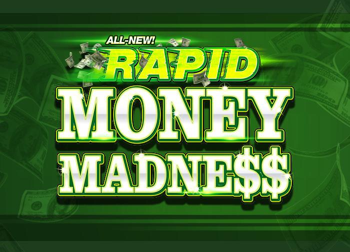 All-New Rapid Casino-Wide Progressive Bonus