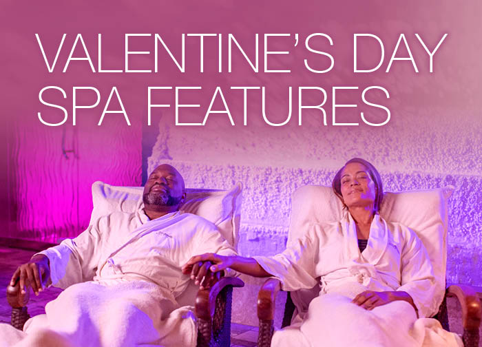 Valentines Day Spa Features