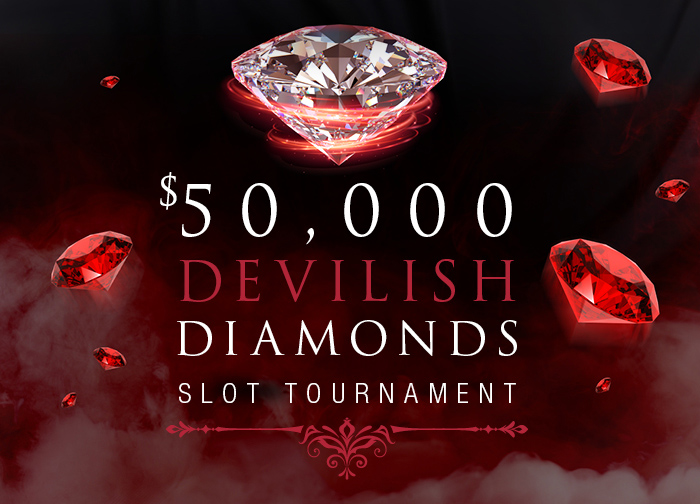 $50K Devilish Diamonds Slot Tournament