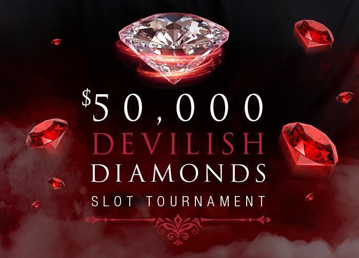 Devilish Diamonds Slot Tournament