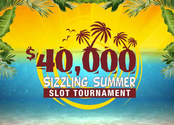 $40K Sizzling Summer Slot Tournament