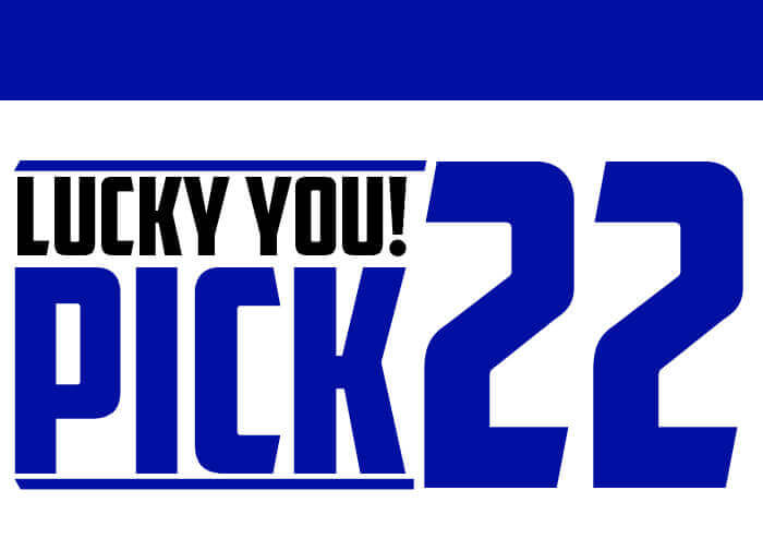 Lucky You! Pick 22