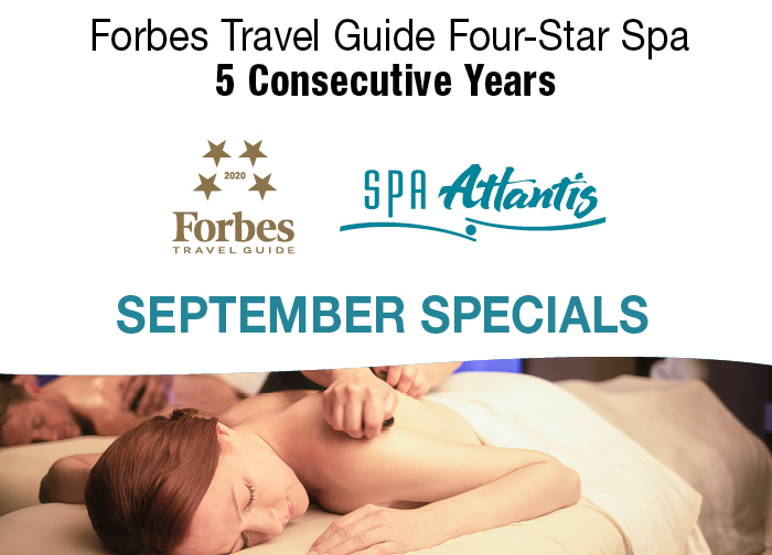 Spa Atlantis September Specials