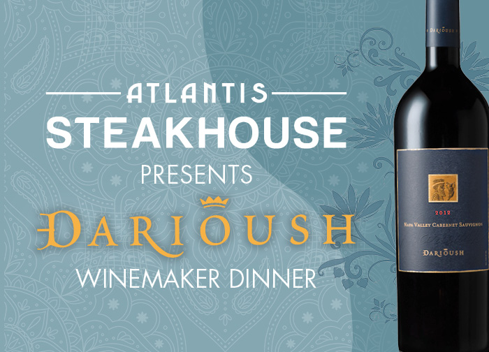 Darioush Spirited Dinner August 2020