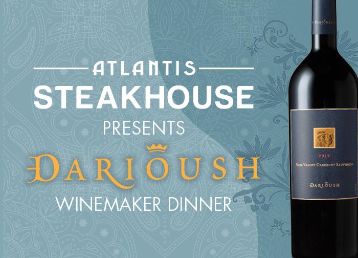 Darioush Spirited Dinner August 2020
