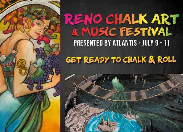 Reno Chalk Art and Music Festival