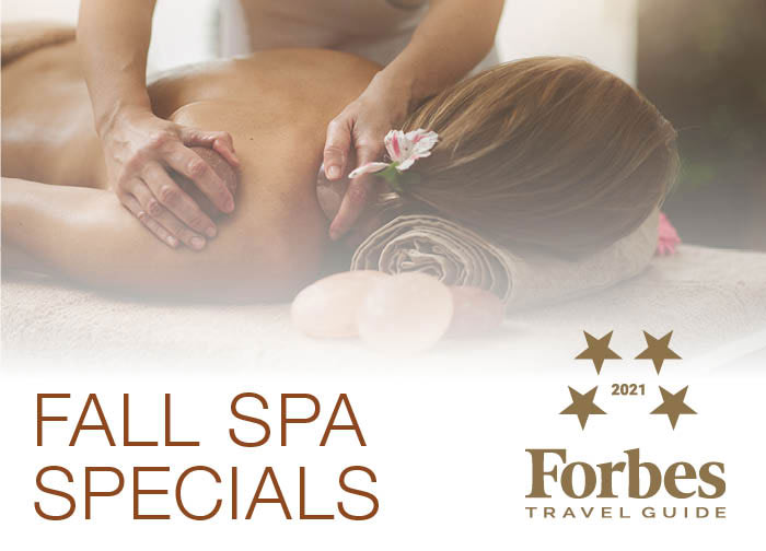 Fall Spa Features