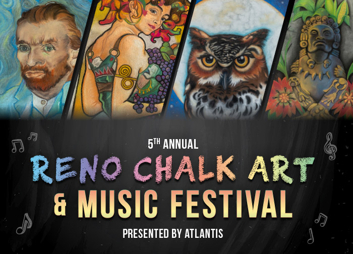 Reno Chalk Art and Music Festival