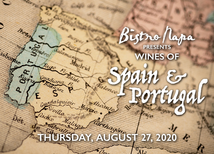Bistro Napa Presents Wine of Spain and Portugal