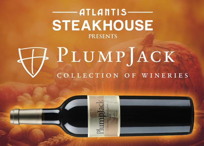 Plumpjack, Cade & Odette Wine Dinner