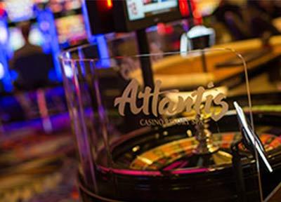 Roulette Table at Atlantis Casino