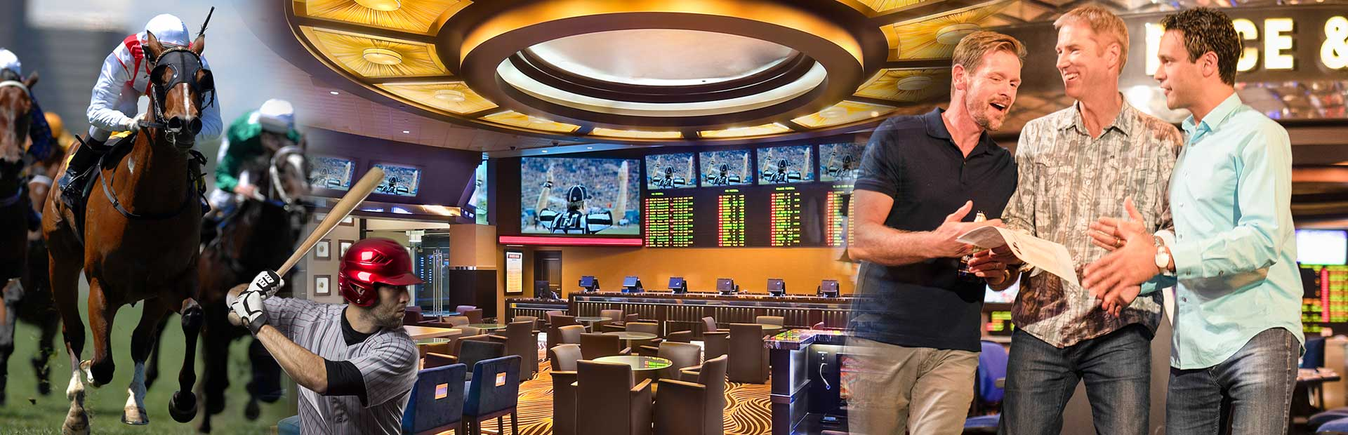 Race and Sports Book at Atlantis
