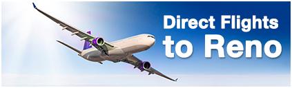 Direct flights to Reno
