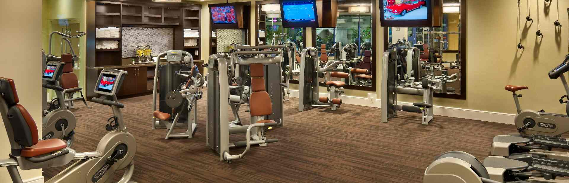Fitness Center at Spa Atlantis